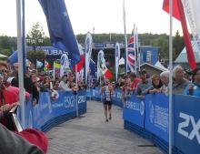 Ironman Mont Tremblant 2014.